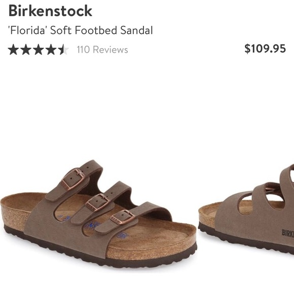 Birkenstock Shoes - Birkenstocks Florida softbed foot sandal